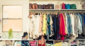 Как организовать хранение вещей в шкафу