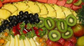Как красиво оформить фруктовую нарезку