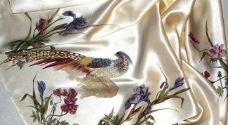 Как завязать платок на руке