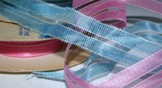 How to make a belt from ribbon