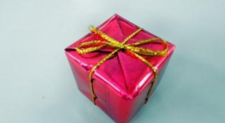 Как сделать подарочную упаковку своими руками