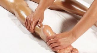 Как делать массаж ног