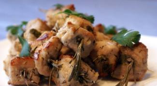 Как приготовить шашлык под соусом из хрена