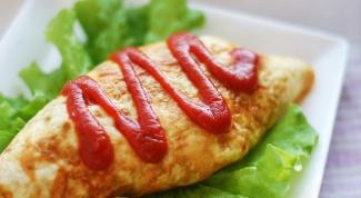 """Как приготовить японское блюдо """"Омурайсу"""""""
