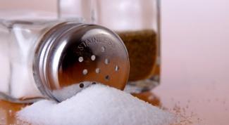 Как есть меньше соли