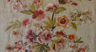Как перенести на ткань рисунок вышивки