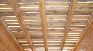 Как усилить деревянное перекрытие