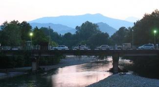 Как перейти границу Абхазии