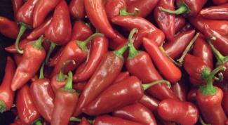 Как мариновать горький перец