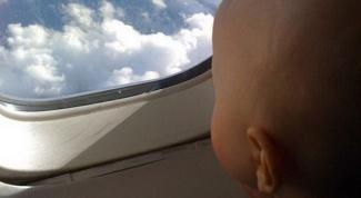 Как дети переносят авиаперелет