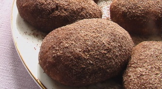 Шоколадная картошка с миндалем и мармеладом
