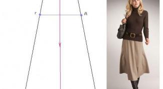 Как сшить юбку-четырехклинку?