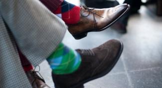 Как правильно выбрать цвет носков
