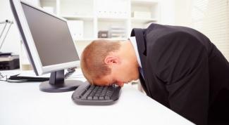 Как перестать уставать от работы