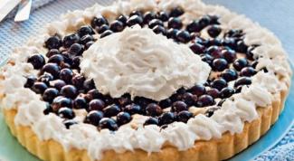Быстрое песочное тесто для открытых пирогов
