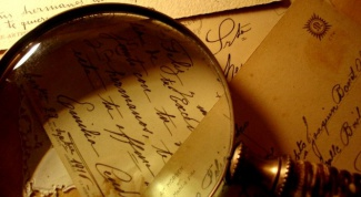 How is handwriting examination