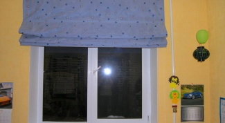 Как самому сшить римские шторы