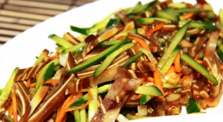Salad recipes with pork ears