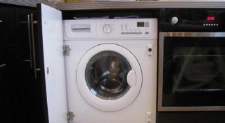 Установка встраиваемой стиральной машины