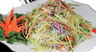 Рецепт Харбинского салата