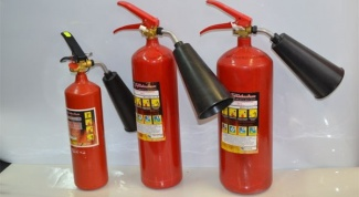 What fire extinguishers to put out electrical installations