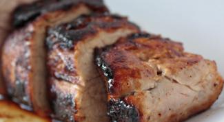 Рецепты простых блюд из свиной вырезки