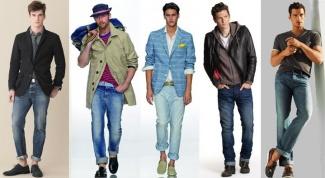Фасоны узких джинсов для парней
