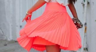 Как сшить  плиссированную юбку