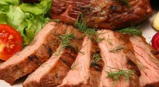 Простые блюда из говядины в духовке