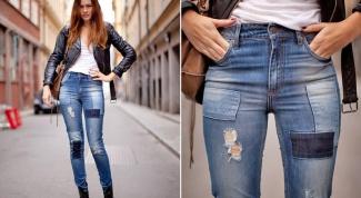 Где купить джинсы с высокой талией