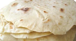 How to prepare the Armenian lavash