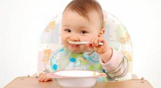 Примерное меню ребенка 10-11 месяцев