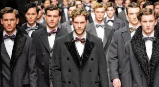 С чем носить классическое зимнее мужское пальто