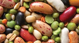 Рацион кормящей матери: бобовые