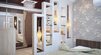 Как перегородить комнату мебелью