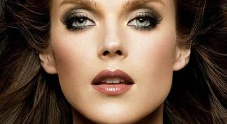 Модные оттенки в макияже