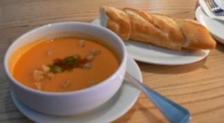 Как приготовить венгерский морковный суп-пюре?