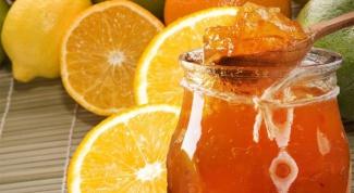 Готовим апельсиновый джем в микроволновке