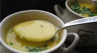 Готовим морковный суп с имбирем