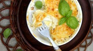 Картофельный гратен «Дофинуа»