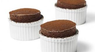 Как приготовить горячее шоколадное суфле