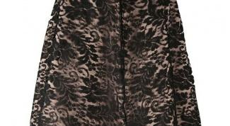 Гипюровая юбка: с чем и куда носить