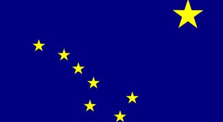 Какое созвездие на флаге штата Аляска