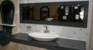 Столешницы для ванной комнаты своими руками