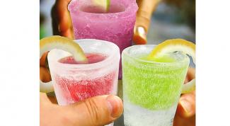 Как сделать стакан изо льда