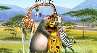 Как зовут героев из «Мадагаскара»