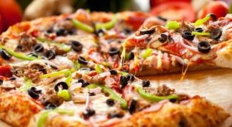 Как едят пиццу