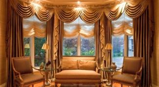Какие шторы подойдут к мебели из дерева