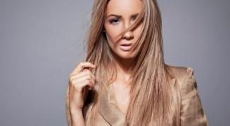 Как покрасить длинные волосы