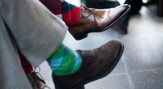 Какого цвета должны быть носки